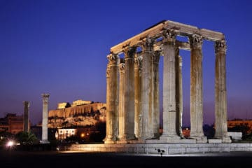 athens night tour